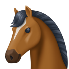 Horse Face facebook emoji