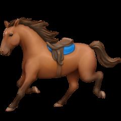 Horse facebook emoji