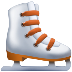Ice Skate facebook emoji