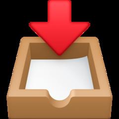 Inbox Tray facebook emoji