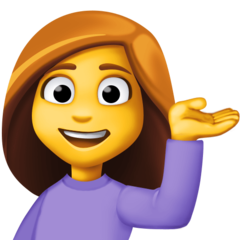 Information Desk Person facebook emoji
