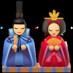 Japanese Dolls facebook emoji