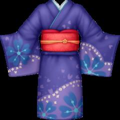 Kimono facebook emoji