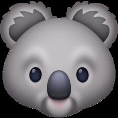 Koala facebook emoji