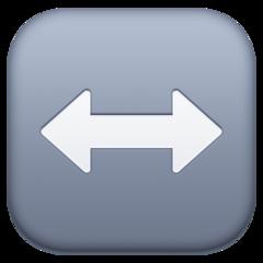 Left Right Arrow facebook emoji