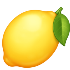 Lemon facebook emoji