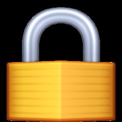 Lock facebook emoji