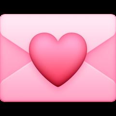 Love Letter facebook emoji