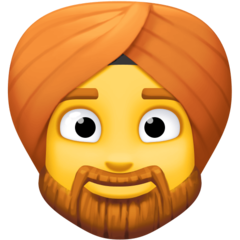 Man With Turban facebook emoji