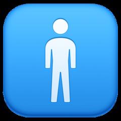 Mens Symbol facebook emoji