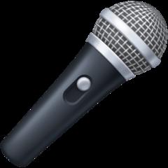 Microphone facebook emoji
