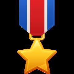 Military Medal facebook emoji