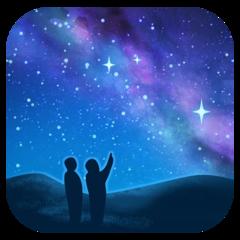 Milky Way facebook emoji