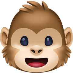 Monkey Face facebook emoji