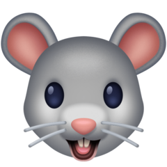 Mouse Face facebook emoji