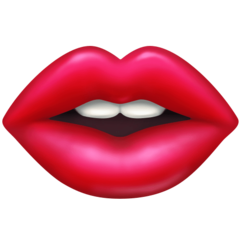 Mouth facebook emoji