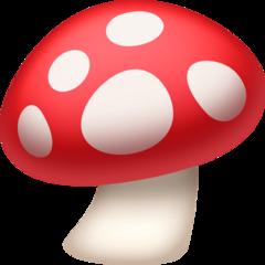 Mushroom facebook emoji