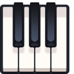 Musical Keyboard facebook emoji
