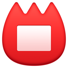 Name Badge facebook emoji