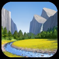 National Park facebook emoji