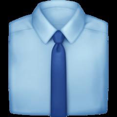 Necktie facebook emoji