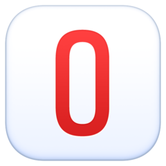 Negative Squared Latin Capital Letter O facebook emoji