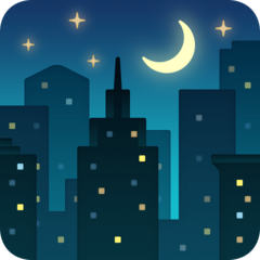 Night With Stars facebook emoji