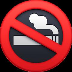 No Smoking Symbol facebook emoji