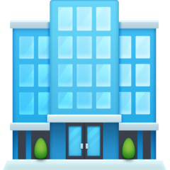Office Building facebook emoji