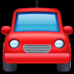 Oncoming Automobile facebook emoji