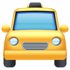 Oncoming Taxi facebook emoji
