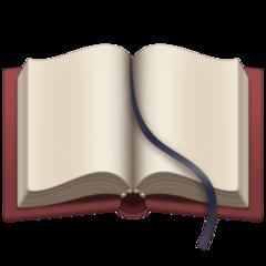 Open Book facebook emoji