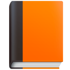 Orange Book facebook emoji