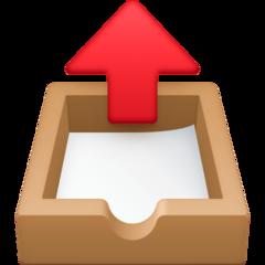 Outbox Tray facebook emoji