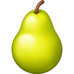 Pear facebook emoji