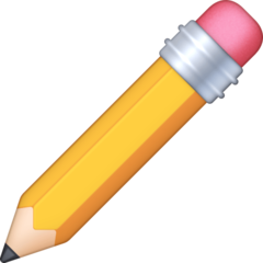 Pencil facebook emoji