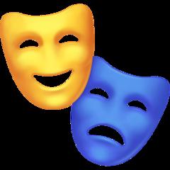 Performing Arts facebook emoji