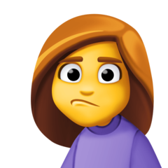 Person With Pouting Face facebook emoji