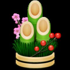 Pine Decoration facebook emoji