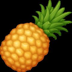 Pineapple facebook emoji