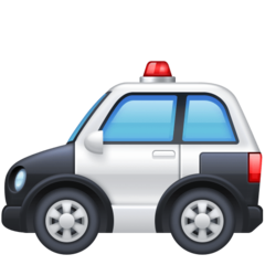 Police Car facebook emoji