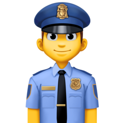 Police Officer facebook emoji