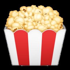 Popcorn facebook emoji