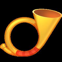 Postal Horn facebook emoji