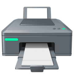 Printer facebook emoji
