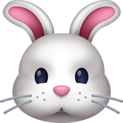 Rabbit Face facebook emoji