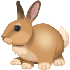 Rabbit facebook emoji