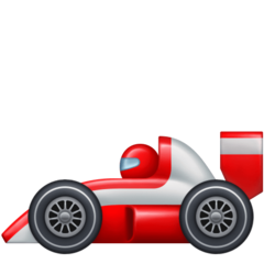 Racing Car facebook emoji