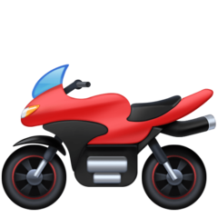 Racing Motorcycle facebook emoji