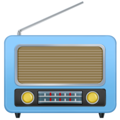 Radio facebook emoji